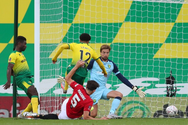 Norwich City - Manchester United: wynik i relacja - Puchar Anglii   Eurosport w TVN24    - Piłka nożna - TVN24