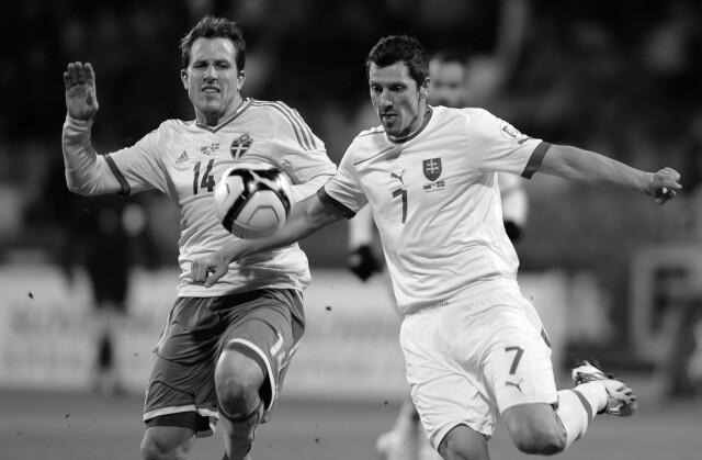 Zmarł reprezentant Słowacji w piłce nożnej. Miał 40 lat