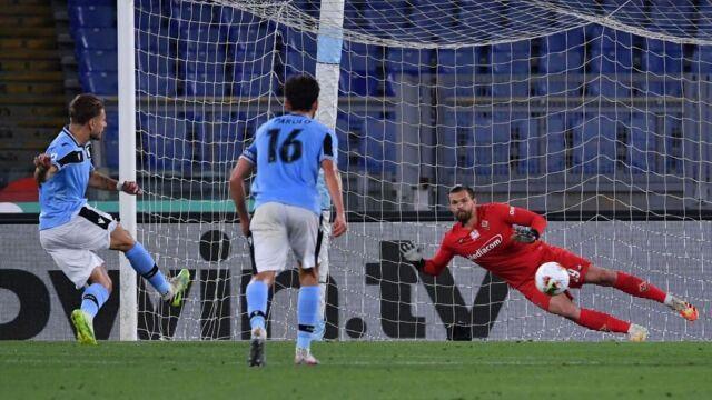 Drągowski sprokurował rzut karny. 28. gol Immobile