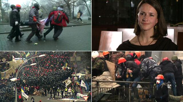 I rocznica rewolucji na Majdanie