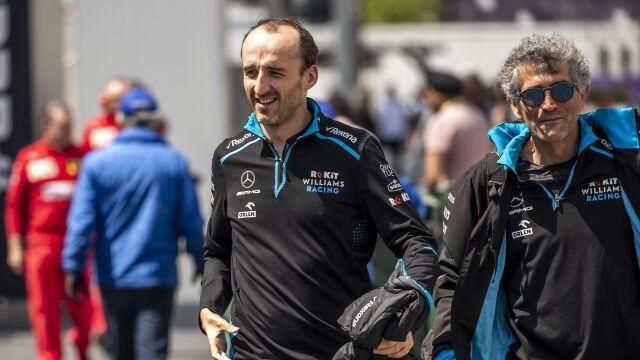 Osamotniony Kubica ostatni na treningu. W Baku Williams przeżywa koszmar
