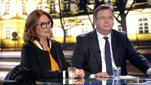 Małgorzata Kidawa-Błońska i Michał Wójcik w