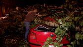 Gwałtowna burza we Wrocławiu. Wiatr zrywał dachy i przewracał drzewa