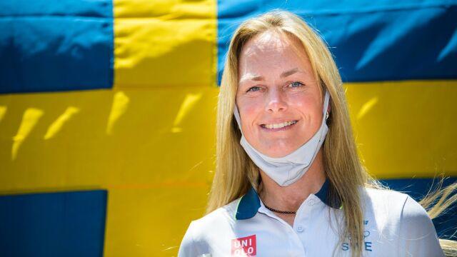 Jej konie spłonęły w Polsce, teraz została chorążą kadry