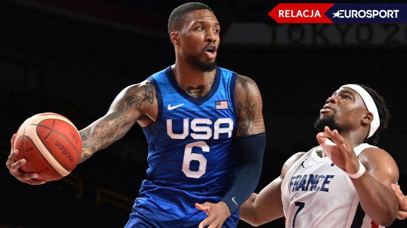 Faworyci do złota w grze.  Koszykarze USA zaczęli igrzyska