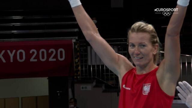 Tokio. Koszewska pokonała Junusową w 1. rundzie rywalizacji w boksie