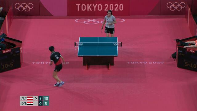 Tokio. Zaza przegrała z Liu Jią w 1. rundzie turnieju tenisa stołowego kobiet
