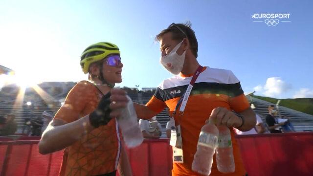 Tokio. Van Vleuten była przekonana o swoim triumfie w wyścig ze startu wspólnego kobiet