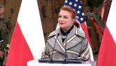 Georgette Mosbacher żegna prezydenta Georgea H. W. Busha