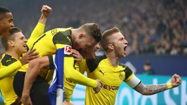 Derby Zagłębia Ruhry dla Borussii, cały mecz Piszczka