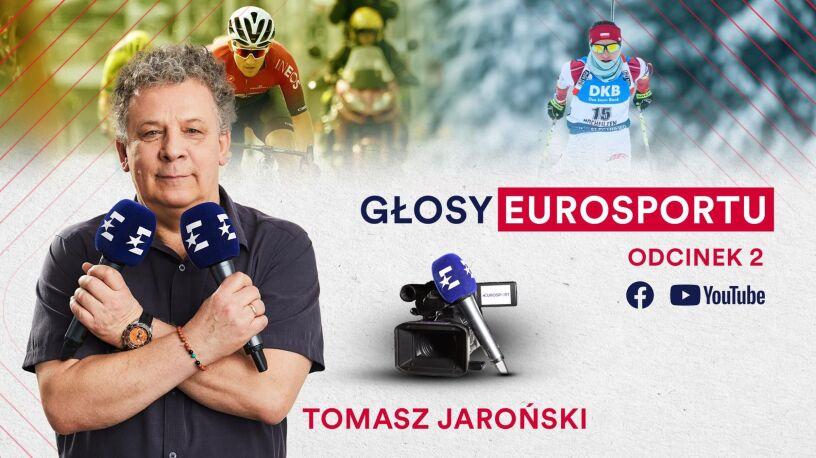 """Rach-ciach-ciach, czyli """"Głosy Eurosportu"""" z Tomaszem Jarońskim"""