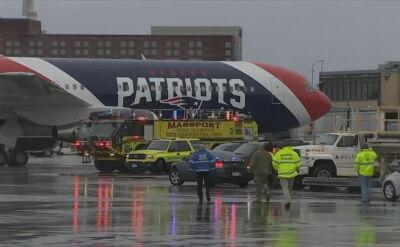 Samolot zespołu New England Patriots przetransportował z Chin do USA milion maseczek