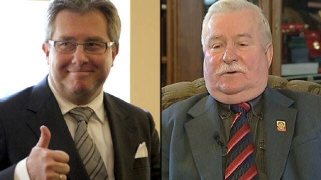 Wałęsa ma przeprosić posła PiS