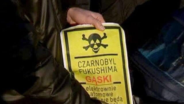 """""""Czarnobyl, Fukushima, Gąski"""". Nie chcą elektrowni pod Mielnem"""