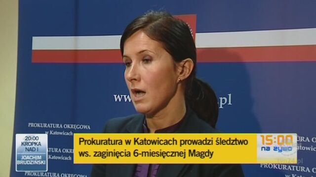 Śledztwo przejęła Prokuratura Okręgowa w Katowicach (TVN24)