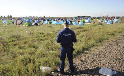 Reporter TVN24 wśród złapanych uchodźców na Węgrzech