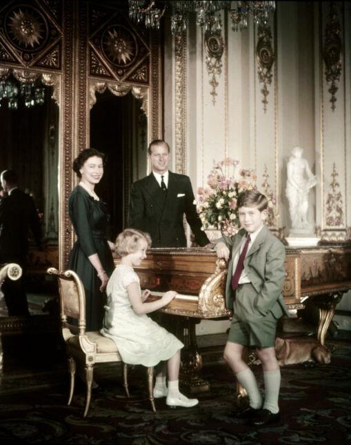 Elżbieta, Filip, Karol i Anna