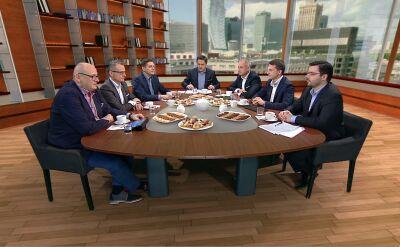 """Politycy w """"Kawie na ławę"""" o środowym wystąpieniu szefa MON"""