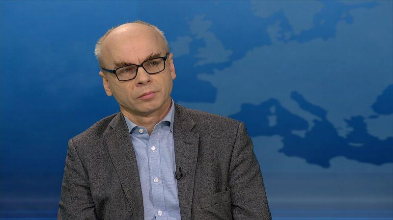 """Gościem """"Horyzontu"""" był prof. Dariusz Stola"""
