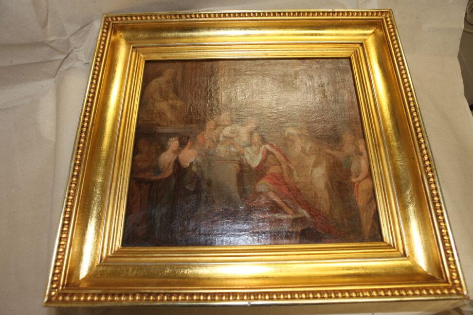 Obrazy były wystawiane w Muzeum Narodowym w Poznaniu były wystawiane jako depozyt