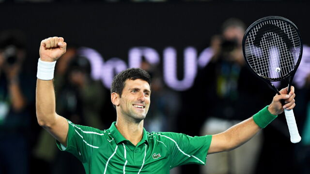 Djoković wybrnął z tarapatów. Ósmy triumf w Australian Open