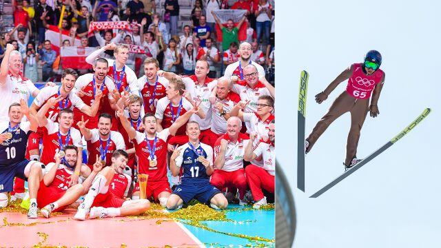 Polscy siatkarze czwartą drużyną świata. Stoch tuż za Cristiano Ronaldo