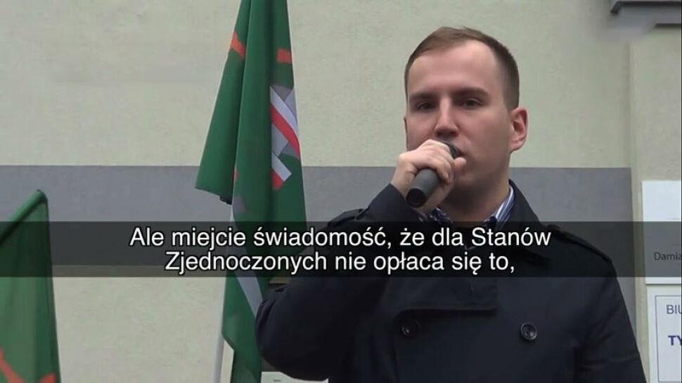 Andruszkiewicz w 2015 roku: USA nie będą nas bronić w razie konfliktu