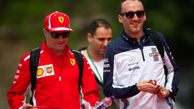 """Kubica: trudno było powiedzieć Ferrari """"nie"""""""