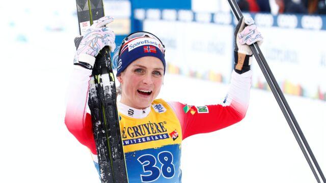Ułamek sekundy zadecydował o wygranej Johaug. Nowa liderka Tour de Ski
