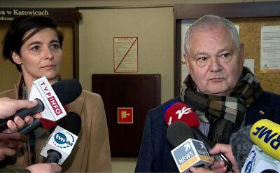 Prezes NBP Adam Glapiński nie skomentował przebiegu przesłuchania