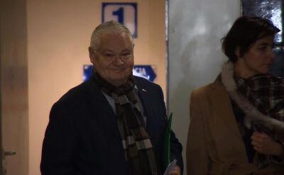 """""""Po wyjściu bardzo chętnie porozmawiam"""". Prezes NBP w prokuraturze"""