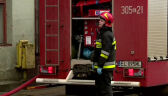 Wybuch i pożar w łódzkiej kamienicy