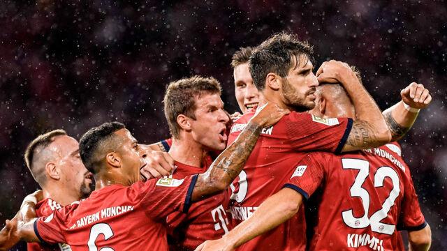 Lewandowski zmazał plamę. Bayern się męczył, ale wygrał