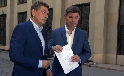PO składa pozew przeciwko premierowi Mateuszowi Morawieckiemu