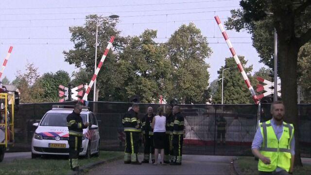 Czworo dzieci zginęło na przejeździe kolejowym. Były w koszu rowerowym