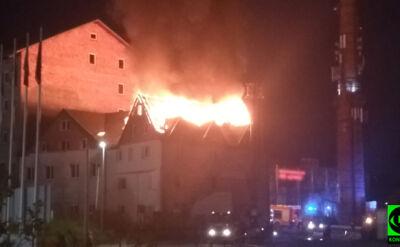 Pożar w Wieliczce