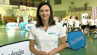 Monika Pyrek podstępem zachęca dzieci do sportu.