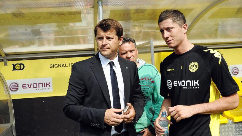 Niemieckie media: Lewandowski pozwał swojego byłego menedżera