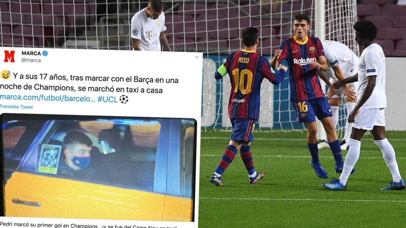"""Cudowne dziecko Barcelony. """"Strzelił gola, wrócił taksówką"""""""