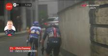 Problemy Froome'a na 1. etapie Vuelta a Espana