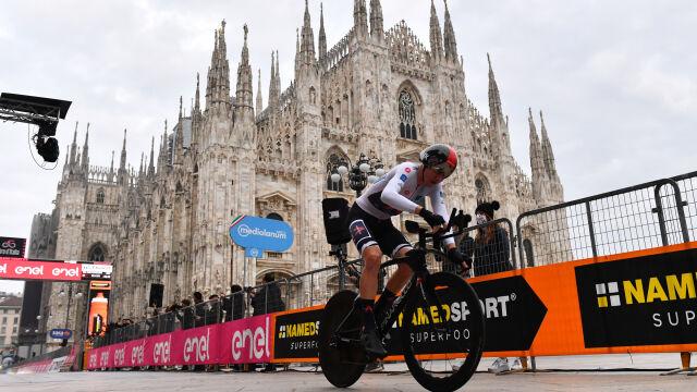 Tao Geoghegan Hart zwycięzcą Giro d'Italia. Niezapomniany finał w Mediolanie