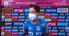 O'Connor po wygraniu 17. etapu Giro d'Italia