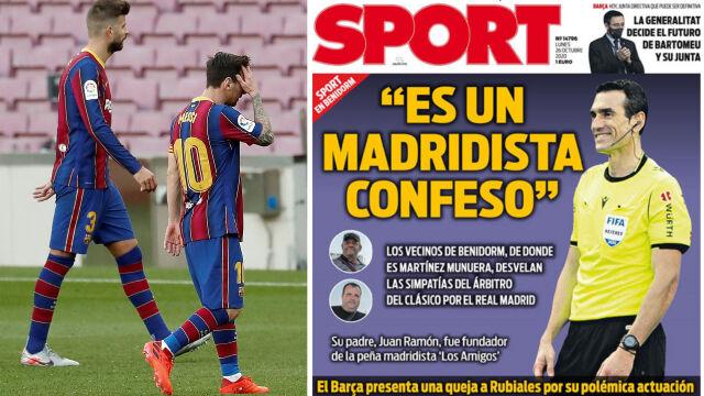 """""""Sympatyzuje z Realem"""". Śledztwo katalońskich dziennikarzy po El Clasico"""