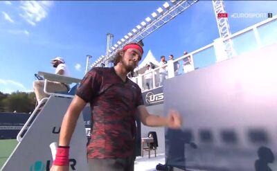 Tsitsipas awansował do finału turnieju Ultimate Tennis Showdown