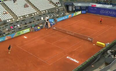 Rublow wygrał pierwszego seta w starciu z Berrettinim w półfinale Thiem's 7
