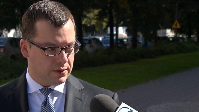 Przemysław Nowak o działaniach prokuratury