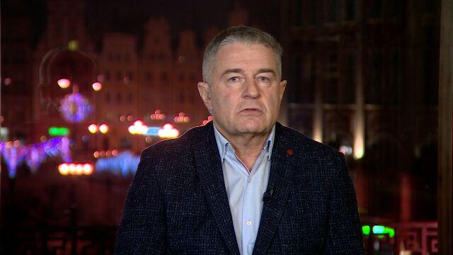 """Władysław Frasyniuk był gościem w """"Faktach po Faktach"""" w TVN24"""