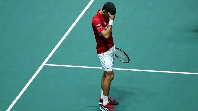 Wygrana Djokovica na nic. Serbowie bez awansu
