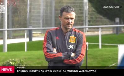 Luis Enrique ponownie selekcjonerem reprezentacji Hiszpanii
