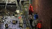 Politechnika w Hongkongu po protestach studentów